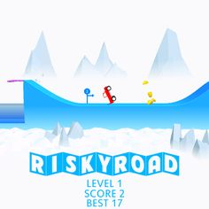 OMG ! I just scored 2 points in #RiskyRoad ! Can you beat my score ?  https://itunes.apple.com/app/risky-road/id1081132864