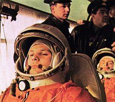 Yuri Gagarin - primer hombre en el espacio