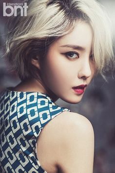 """Hyomin Leaves Fans Speechless with Sexy Photoshoot and Video Clip from """"International bnt"""" 
