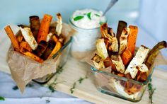 These roasted root fries are deliciously savory, crispy, and guilt-free!