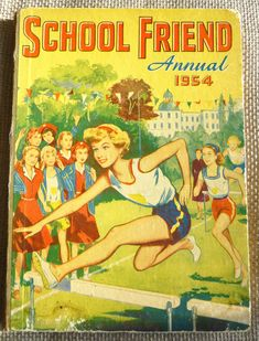 Excited to share the latest addition to my shop: Vintage School Friend Annual Sherlock Holmes Stories, Story Titles, Ladybird Books, Vintage Children's Books, Vintage Kids, Retro Vintage, Books For Teens, Teen Books, Vintage School