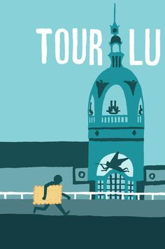 I've created a series of posters depicting landmarks of the city of Nantes for my bar Le Nid. Photo Illustration, Graphic Design Illustration, Lieu Unique Nantes, Lu Nantes, Ville France, Tour Posters, Cool Backgrounds, City Maps, Patterns In Nature