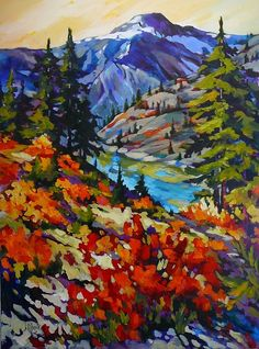 Final Destination by jill charuk Acrylic ~ 40 x 30 Kunst Inspo, Art Inspo, Bob Ross Paintings, Caribbean Art, Desert Art, Southwest Art, Canadian Art, Landscape Paintings, Landscape Quilts