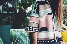 El blog de Dmc: Patrón de ganchillo gratis: Rebeca oversize con Woolly Chic