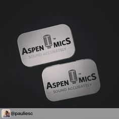 "#Repost appreciate the support @pauliesc  ""My new mics come nicely boxed from @aspenmics #audiokit #videoproduction"" #aspenmics"