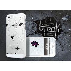 Break Case designed for Apple iPhone 5 Apple Iphone 5, Iphone 5s, Broken Series, Broken White, Funny Design, Samsung, Phone Cases, Stylish, Slipcovers