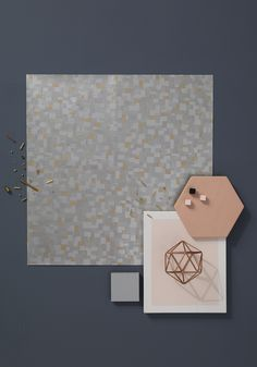 Graham & Brown 2016 Wallpaper & Paint Trends « Culture Vulture Wallpaper. Haute couture metallic embellishment bring a new handcrafted aesthetic to decorating walls with this trend