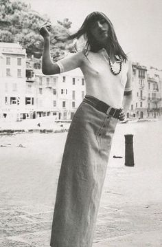 Jane Birkin photographed by Alex Chatelain, 1970 @violetgrey