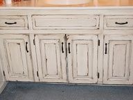 distressed bathroom cabinets - Google Search