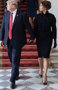 Élysée Palace in Paris, France Donald Trump, Donald And Melania Trump, John Trump, Trump Is My President, First Lady Melania Trump, Melania Trump Model, Ivanka Trump Dress, Ivanka Trump House, Elysee Palace