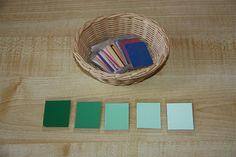 colores montessori