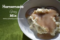 Homemade Gravy Mix