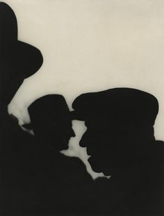 From Wedding as a Funeral, c.1951 -- Gelatin silver print. (Photograph by Saul Leiter)