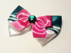 Sailor Jupiter Hair Bow  Sailor Moon by Malabows on Etsy, $4.00