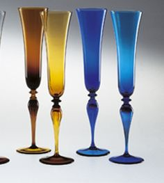 Nason-and-Moretti - Murano champagne coloured  glass | harlequin-london