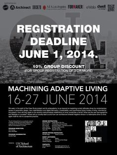 Only one week remaining to apply for AA Visiting School Los Angeles Summer 2014! | Archinect