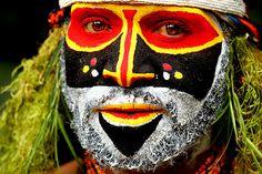 Oceania - Papua New Guinea, makeup, mu, facepaint, face paint, kryolan, aquacolor, body paint, bodypainting, bodypaint, body painting, tribe, tribal, indigenous
