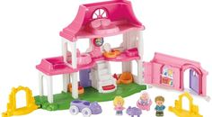 Black Friday 2014 Fisher-Price Little People Happy Sounds Home from Fisher-Price Cyber Monday. Black Friday specials on the season most-wanted Christmas gifts. Jouets Fisher Price, Fisher Price Toys, Little People, Little Ones, Holiday Gifts, Christmas Gifts, Barbie, Toy R, Toys R Us