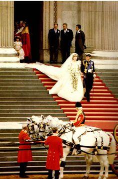 1981 – Prince Charles to Lady Diana