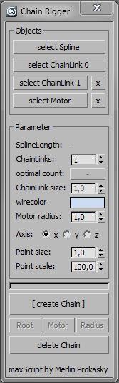 Chain Rigger   ScriptSpot