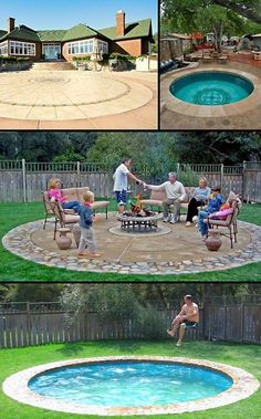 A Pool That Turns Into Patio What Great Idea Garden Paths Patios Decks And Porches Pinterest Backyard Yards