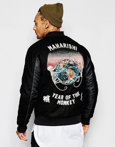 Maharishi Jacket | See more like this follow @filetlondon and stay inspired.