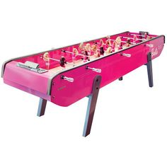 Barbie Foosball.  If I am ever filthy rich, this is what I will buy
