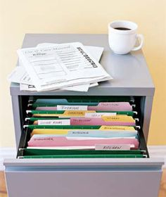 Scan important documents (birth certificates, deeds, etc), include a note to yourself as to where the actual document is stored and save in the cloud. In case of fire or theft, you have a great start. Remember even fire safes have their limit.