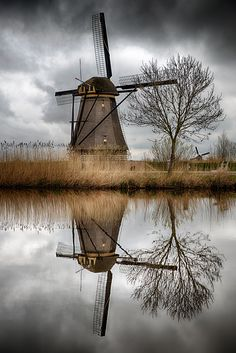 Windmill...reflection by Giovanni Volpe on 500px