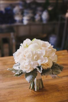 Sweet Root Village Wedding Flowers: White and Grey at Morrison House in Alexandria, Virginia