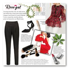 """""""Rosegal *67"""" by albinnaflower ❤ liked on Polyvore featuring Burberry and Iman"""