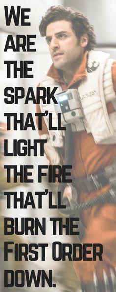#starwars #quotes #poedameron