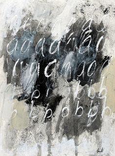 """scottbergeyart: # 1765 """"aaabbb"""" on Flickr. Bergey"""