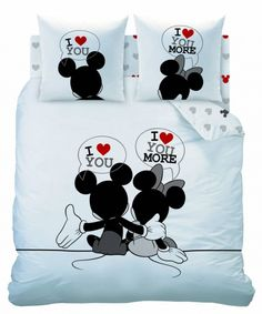 Mickey & Minnie Mouse bedding