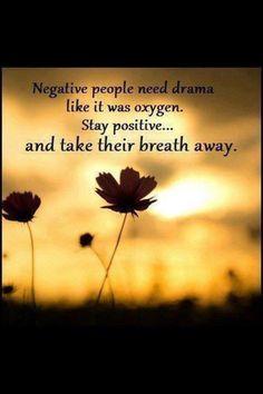Negative people, energy vampires