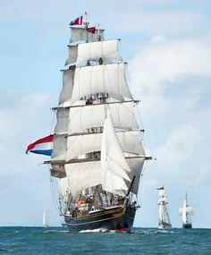 "Dutch clipper modern replica ""Stad Amsterdam"". Tall Ships | Seaworks"