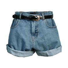 Short short, culottes, pedal pushers and Bermuda shorts were all styles. Learn the history and shop for women's shorts. Shorts Vintage, Vintage High Waisted Shorts, Retro Shorts, Loose Jeans, Loose Shorts, Boyfriend Jean Shorts, Mom Jeans, Outfits Damen, Mode Vintage