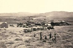 Timothy O'Sullivan Photo of Gold Hill, Nevada