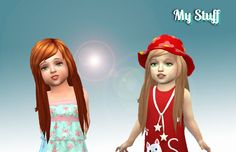 Mystufforigin: Cute Hairstyle for Toddlers  - Sims 4 Hairs - http://sims4hairs.com/mystufforigin-cute-hairstyle-for-toddlers/