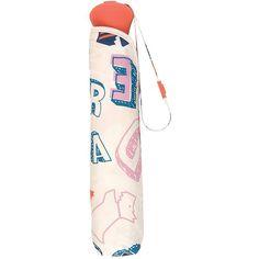 Radley Spell Check Mini Telescopic Umbrella ($33) ❤ liked on Polyvore featuring accessories, umbrellas, radley, mini umbrella, radley umbrella and print umbrella