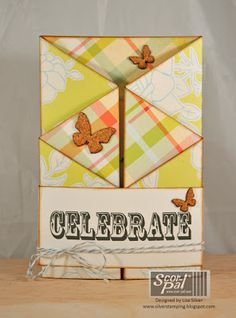 Zig-Zag Birthday card by Lisa Silver -Project ideas using your Scor-Pal