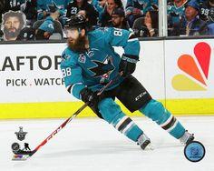 Brent Burns San Jose Sharks www.cojohockey.com
