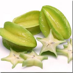 Starfruit. This is used with a coconut milk soak during all of our pedicure treatments