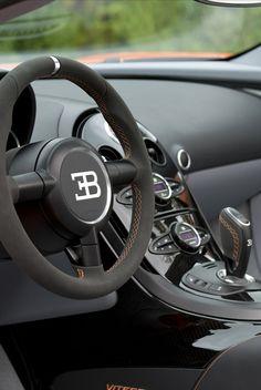 Interior   Bugatti Veyron Grand Sport Vitesse