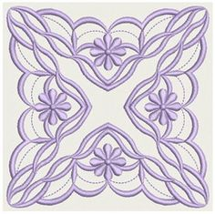Symmetry Block 1 machine embroidery designs 5x5