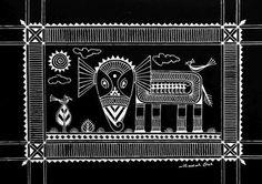 Indian Tribal Art: Saura -via the Must Art Gallery.