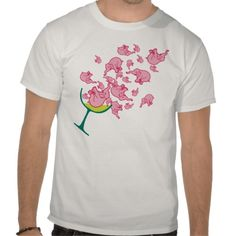 Pink Elephants T-shirt