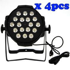 I3c 4Pcs 18 X 10W Rgb Par64 Led Party Stage Effect Light, 2015 Amazon Top Rated Stage Lights #MusicalInstruments