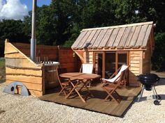 Tinywood Homes Extend Living Space with Gazebos and Hot Tubs