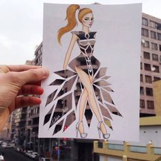 Creative Fashion Designs by Armenian Artist Edgar